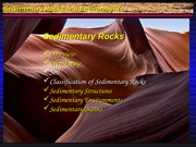 Slideshow 101.13 Sedimentary Rocks - Soils, Classification