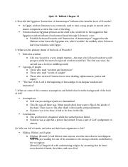Chapter 13 Study Questions