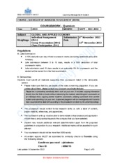 Global Applied Economy -CW question- September 2013