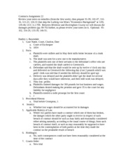 Contracts Assignment 22