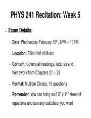 PHYS 241 Recitation Week 5 Spring Online Annotated.pdf