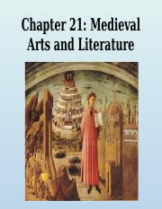 21 Middle ages arts and Literature