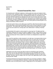 finance course 101 college subjects personalized essays