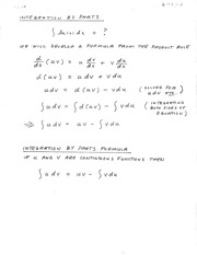 Math 242-Sec. 6.1 Lecture notes