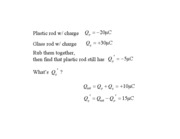 Charge and Coulomb's Force Law