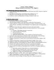 Bio 107 Section 1 Study Guide.doc