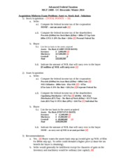 Midterm Exam - Acquisition - SOLUTION - Winter 2014