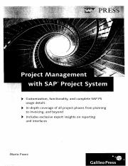 SAP Press - Project Management with SAP Project System (3rd Edition) 2013