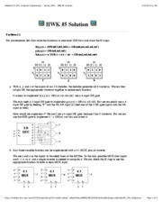 Mallard ECE 290_ Computer Engineering I - Spring 2009 - HWK #5 Solution