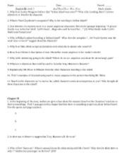 Attwnstudyguide Name Date Period Englishiiilevel3 Studyguides 1