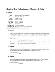 Review Test Submission 1