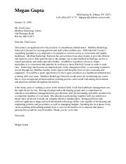 COVER LETTER- ENG317
