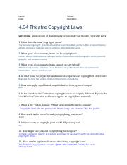 4.04 The Producer and copyright Laws.docx