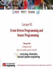 Built-It Workshop L3 - Event Driven Programming
