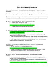 The Complexity of Fear STUDENT.docx - Text-Dependent ...