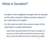 What is Duration