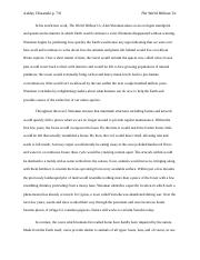 3 Pages The World Without Us Book Report
