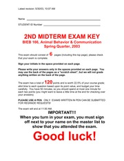 2003 2nd exam key