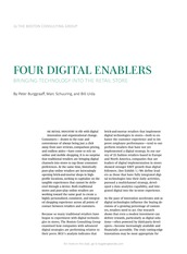 Four Digital Enablers - Bringing Technology into the Retail Store BCG March 2015
