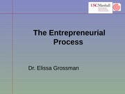 451 The Entrepreneurial Process S14 BB