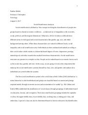social stratification essay soc mildret vazquez soc  5 pages social strafication docx