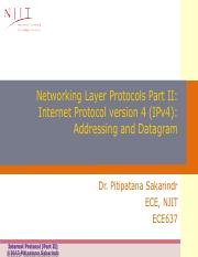 Lecture5_Network Layer Protocols Part II