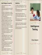 intelligence testing article analysis