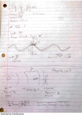 Waves and Doppler Shift Notes