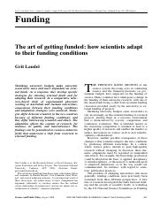 how scientists adapt to their funding conditions.pdf