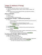 College_PSYCH-_Chapter_13_Notes