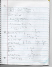 Physics Vertical Equation Notes