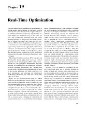 c19Real-TimeOptimization