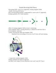 Double Revolving Field Theory