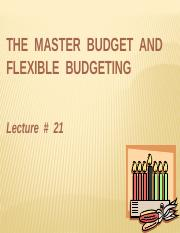 Lecture 8MA-Budgeting-Master and Flexible (1)