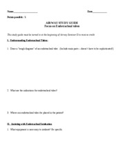 Airway Study Guide