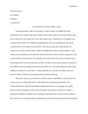 Writing unit 3 essay