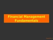 2-1b.- Finance Fundamentals II
