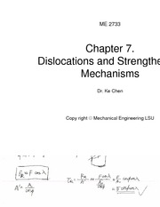 ME2733 Class notes Chapter 7 Lecture Note