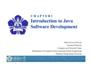 Chapter 1 Writing Your First Java Program