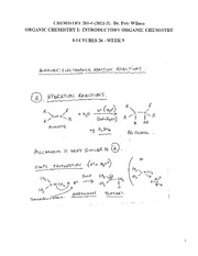 CHEM 281 2011-3 Lecture Notes 26 - WEEK 9