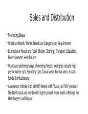 Sales and Distribution Bimtech Bhubaneshwar.pptx