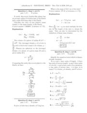 Midterm 1 Practice Solutions