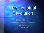 Industrial Revolution ConnerSp02