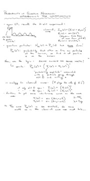 L12&13(Probability amplitudes and the Schrodinger equation)