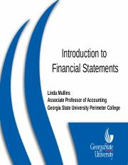 Introduction to Financial Statements PP2