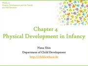 Chapter4. Physical Development in Infancy(cyber)