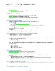 Chapter 15 - Chemical Equilibrium Notes.pdf