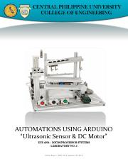 LABORATORY 5. Automations using Ultrasonic Snesor and DC motor.pdf