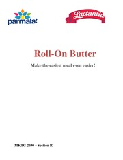 Final Project - Marketing Plan, Roll on Butter