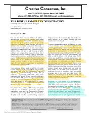 The Biopharm-Seltek Negotiation (Seltek Side) with Highlights.pdf